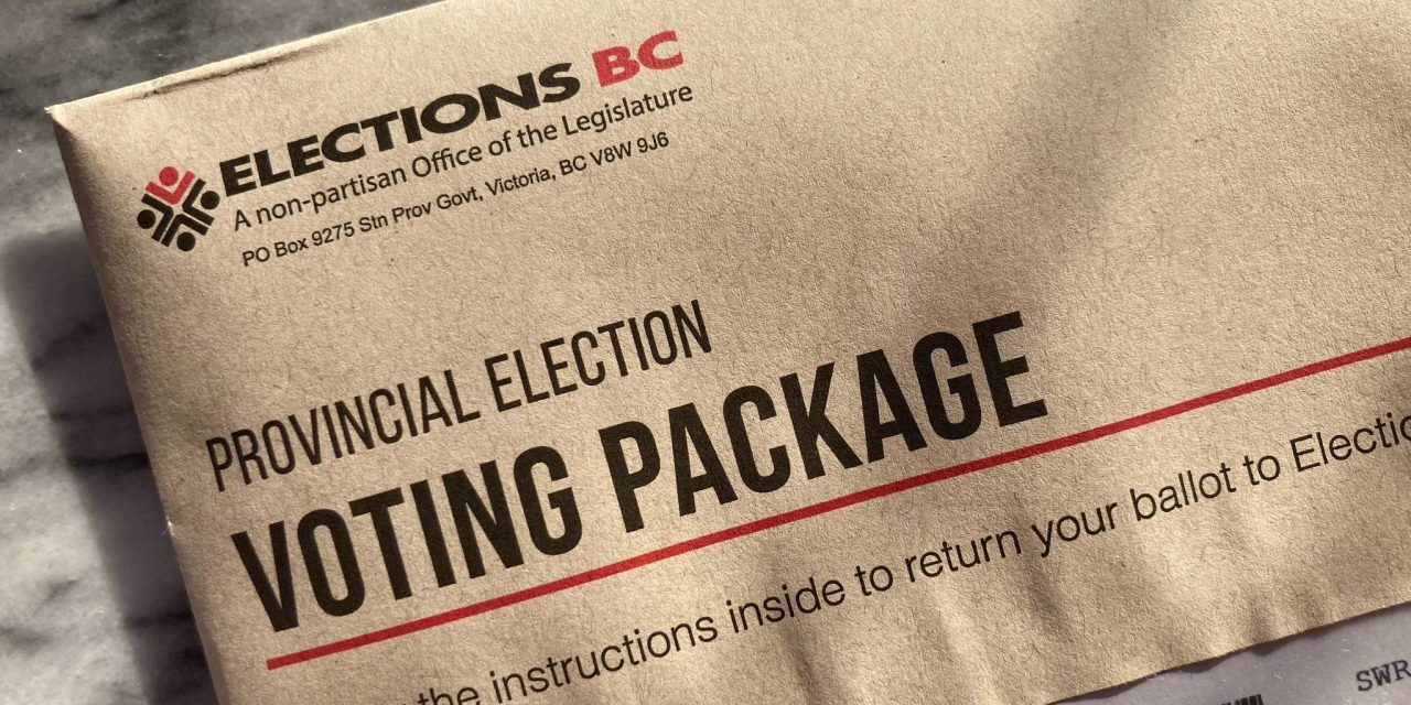 Received a write-in ballot for B.C.'s 2020 election? Here is what you need to know