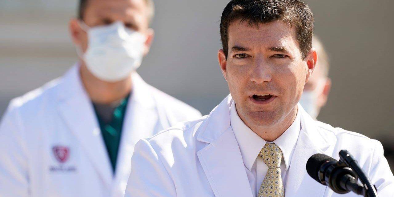 Trump says he's leaving hospital for White House, feels good