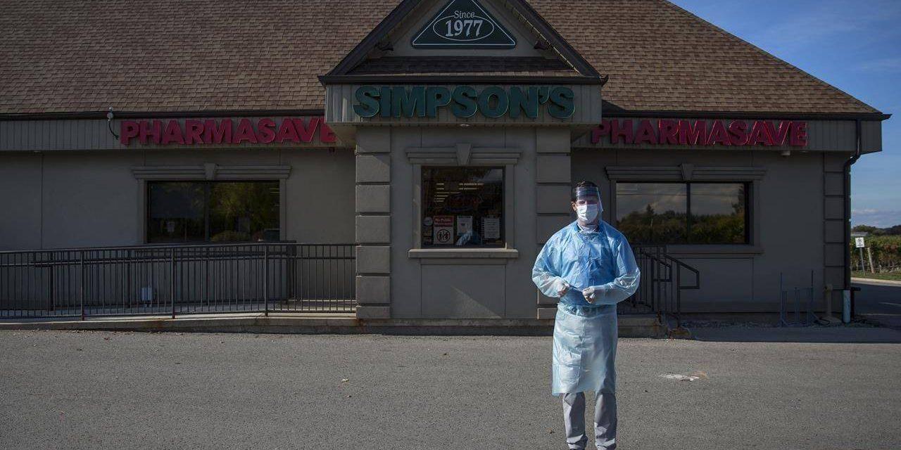 Doctors, pharmacies explore drive-thrus, outdoor clinics to meet flu shot demand