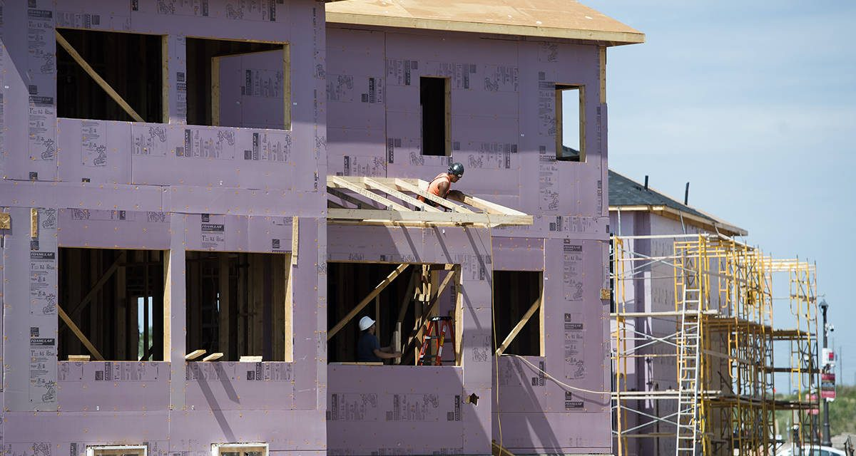 CMHC reports annual pace of housing starts in Canada fell 20 per cent in September