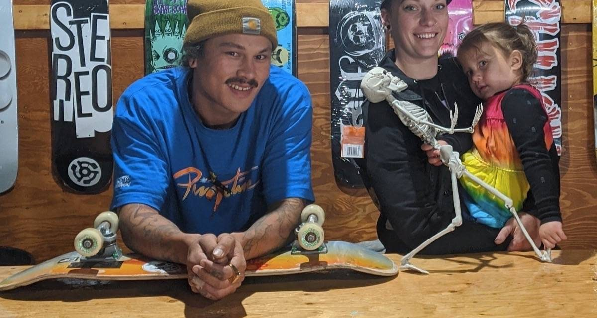 Couple builds roots in Castlegar through skateboarding