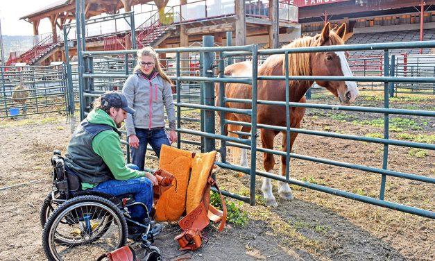 Paralyzed B.C. cowboy set to ride again thanks to custom saddle