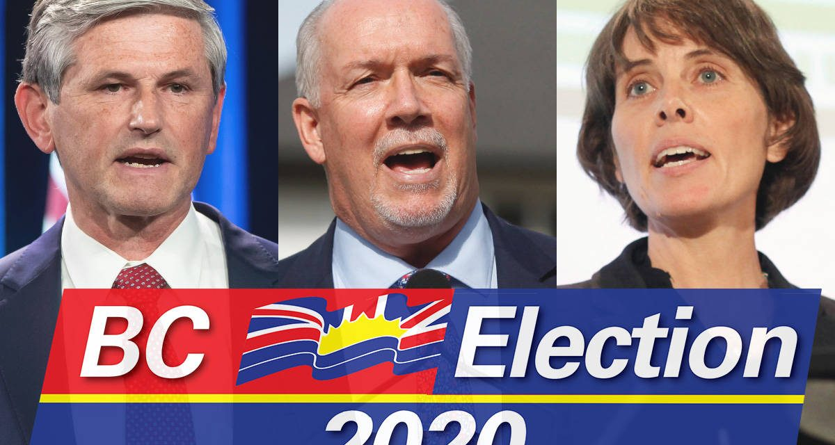 Leaders of B.C.'s three main political parties to take part in televised debate