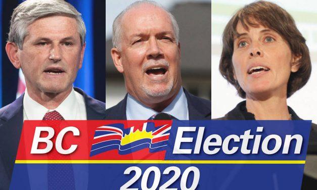 Leaders of B.C.'s three main political parties to take part in televised debate