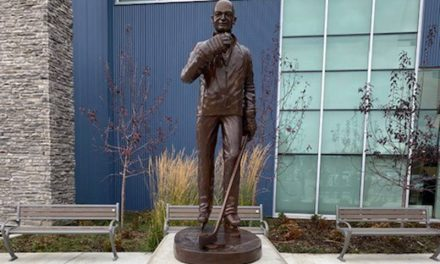 Alberta town unveils statue of coach who died in Humboldt Broncos bus crash
