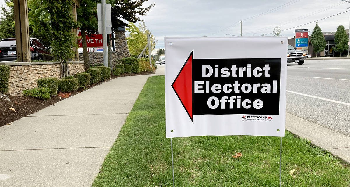 B.C. VOTES: Election officials receive 'unprecedented' number of mail-in ballot requests