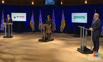 B.C. leaders tested in the only TV election debate of 2020