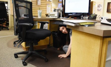 Great BC ShakeOUT happens today at 10:15 a.m.