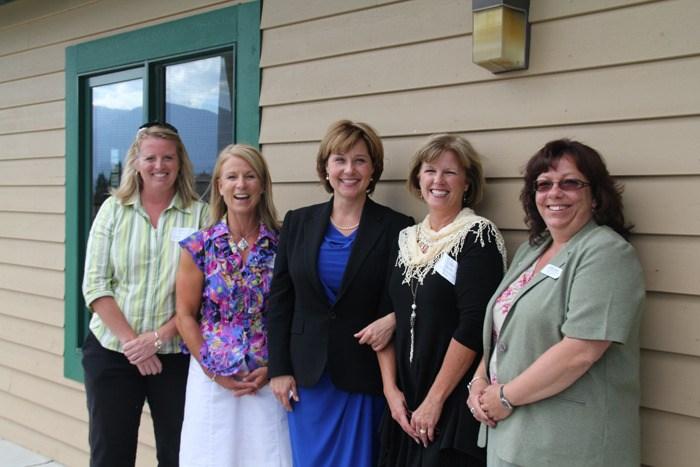 B.C. Premier Christy Clark hosts Women's Town Hall in Invermere