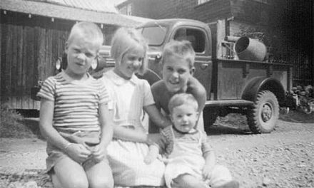 Windermere kids, 1949
