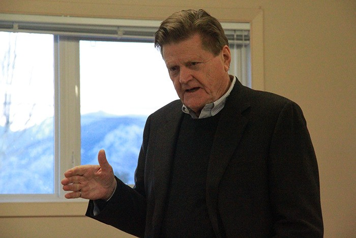 Minister of Seniors gives presentation in Invermere