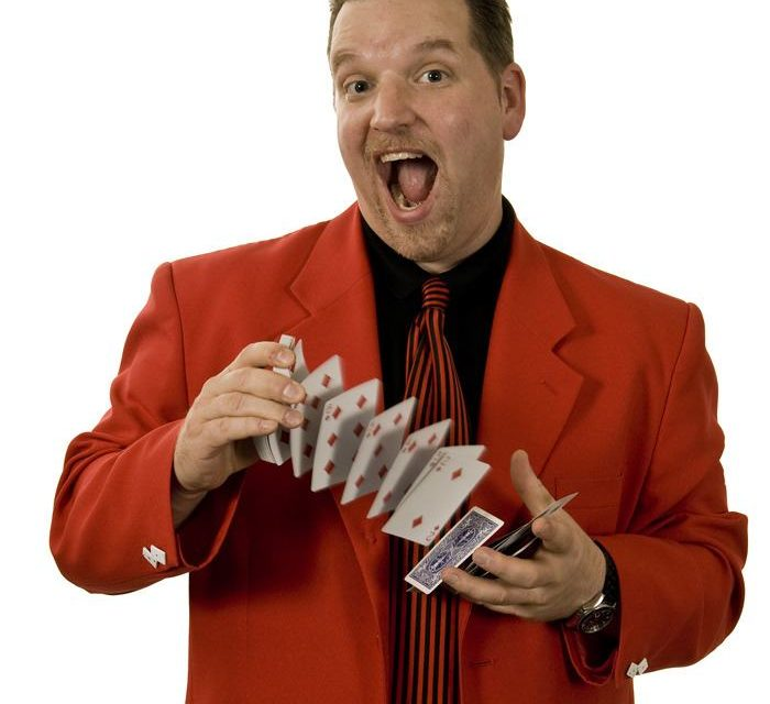 Norden the Magician comes to Invermere
