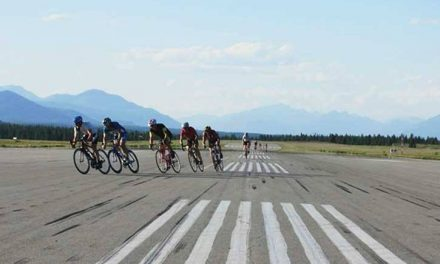 Cranbrook airport hosts  pre- Gran Fondo cycling event