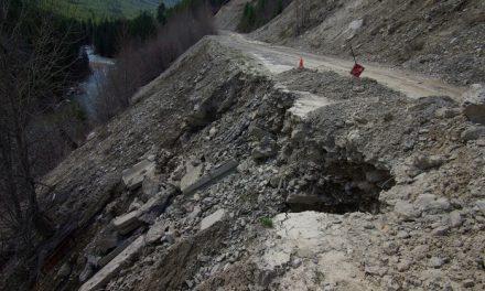 Toby Creek Road reopened after landslide