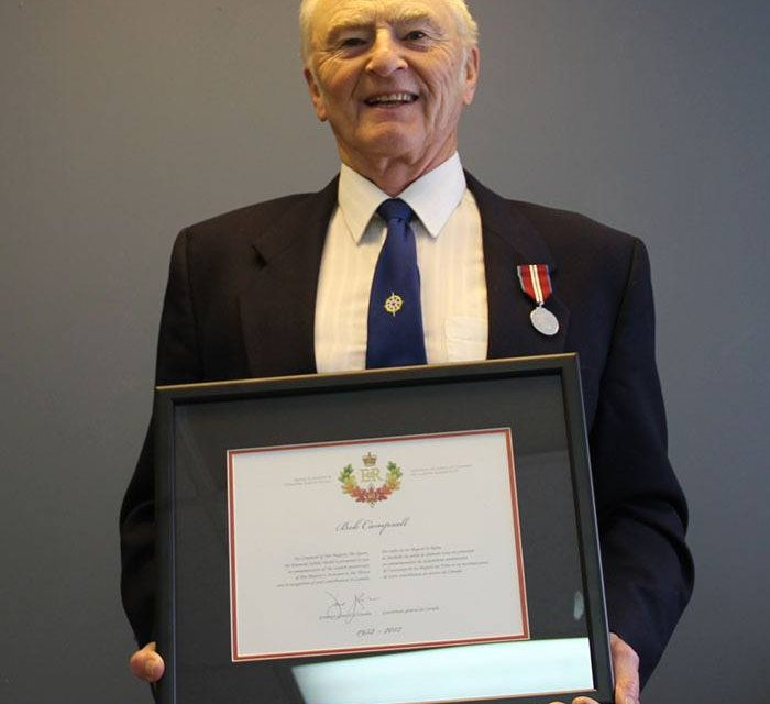 Columbia Valley receives its fifth Diamond Jubilee medal
