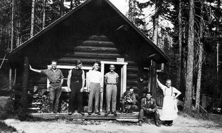 Cabin camaraderie in Kootenay National Park