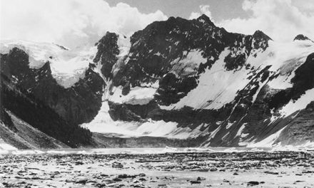 Lake of the Hanging Glaciers, 1967 or 1972