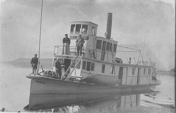 The Selkirk steamboat, 1911