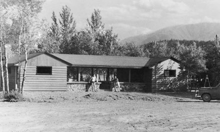 Lounging at the Centennial, 1971