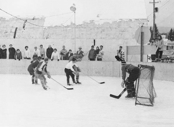 Thats hockey, 1950s style