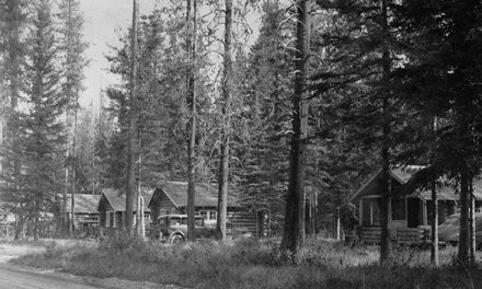 Crooks cabins, 1939
