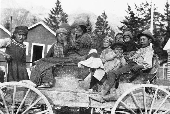 Buckboard crossings, 1930