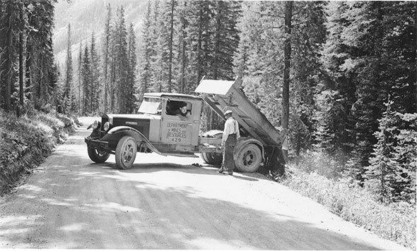 A dump truck remembered, 1928