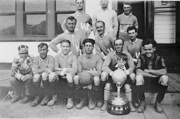 Soccer in Invermere circa 1928
