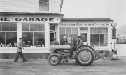 Invermere Contracting Co. Ltd. in the late 1930s