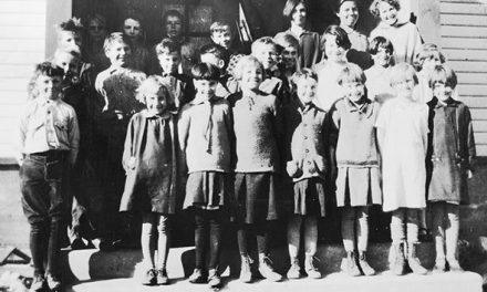 The school children of Athalmer, 1926