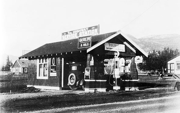 The Highway Service Station, mid-1920s