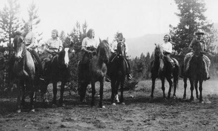 CGIT Horseback Camp in the early 1930s