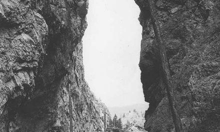 Cruising through the canyon