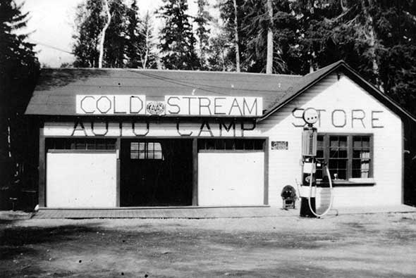 Gas Pump and Store, 1940