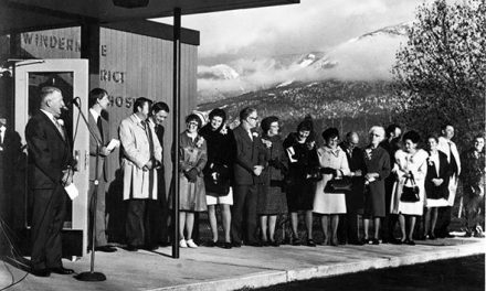 Hospitals opening ceremony, 1972