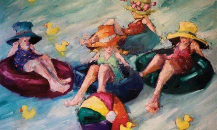 Artist Angela Morgan returns for summer show at Artym