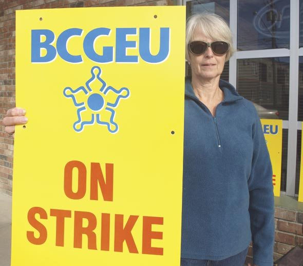 B.C. government workers on strike