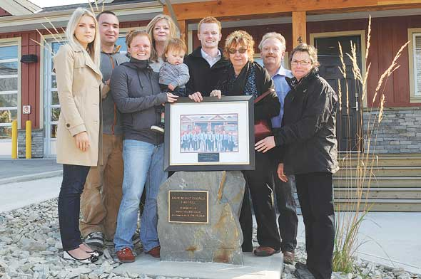 Radium councillor remembered at fire hall ceremony
