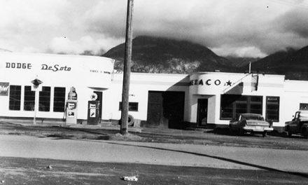 Service Station flashback, late 1950s