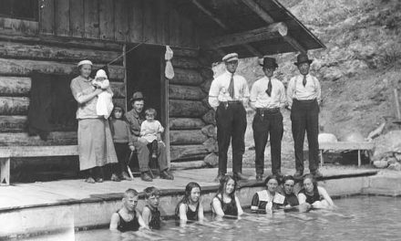 Pool party, 1916