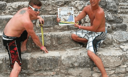 Denis Collin and Stefan Trudel in Mexico