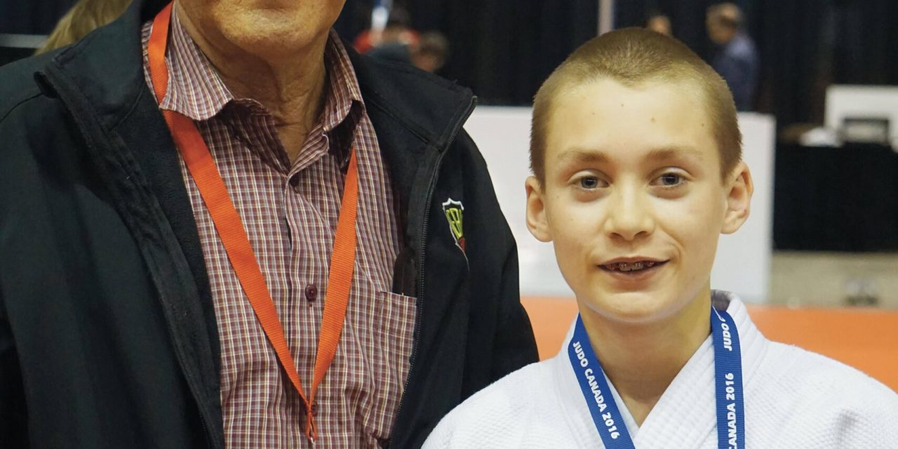 Norquay wins silver at judo nationals in Calgary