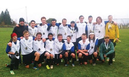 Senior boys finish 16th at soccer provincials