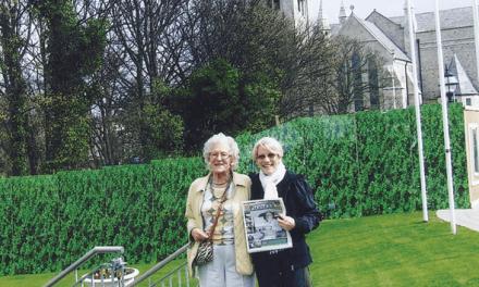 Margaret Dalton and Teresa Coady in Ireland