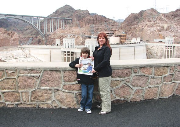 Conall and Annmarie Deagnon at the Hoover Dam
