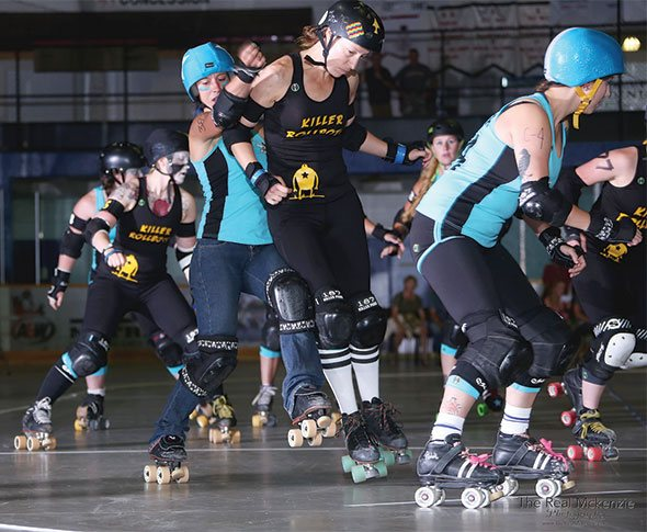 Killer Rollbots reclaim championship title