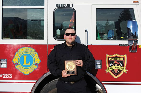 Jones recognized with Road Rescue award