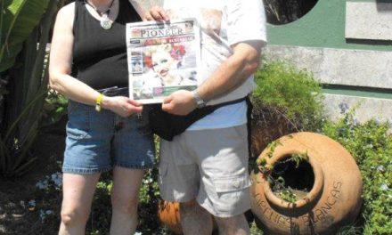 Walter and Kim Gagatek in Cuba