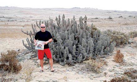 Horia Geamanu in the Atacama desert