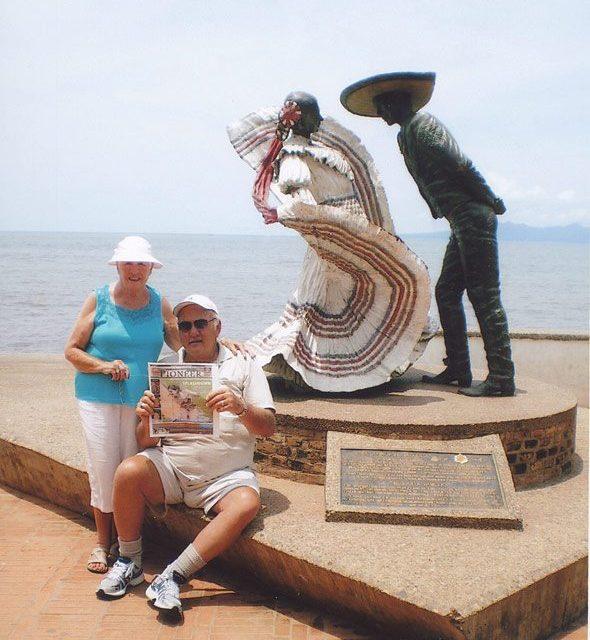 John and Dawn Ginter in Puerto Vallarta, Mexico